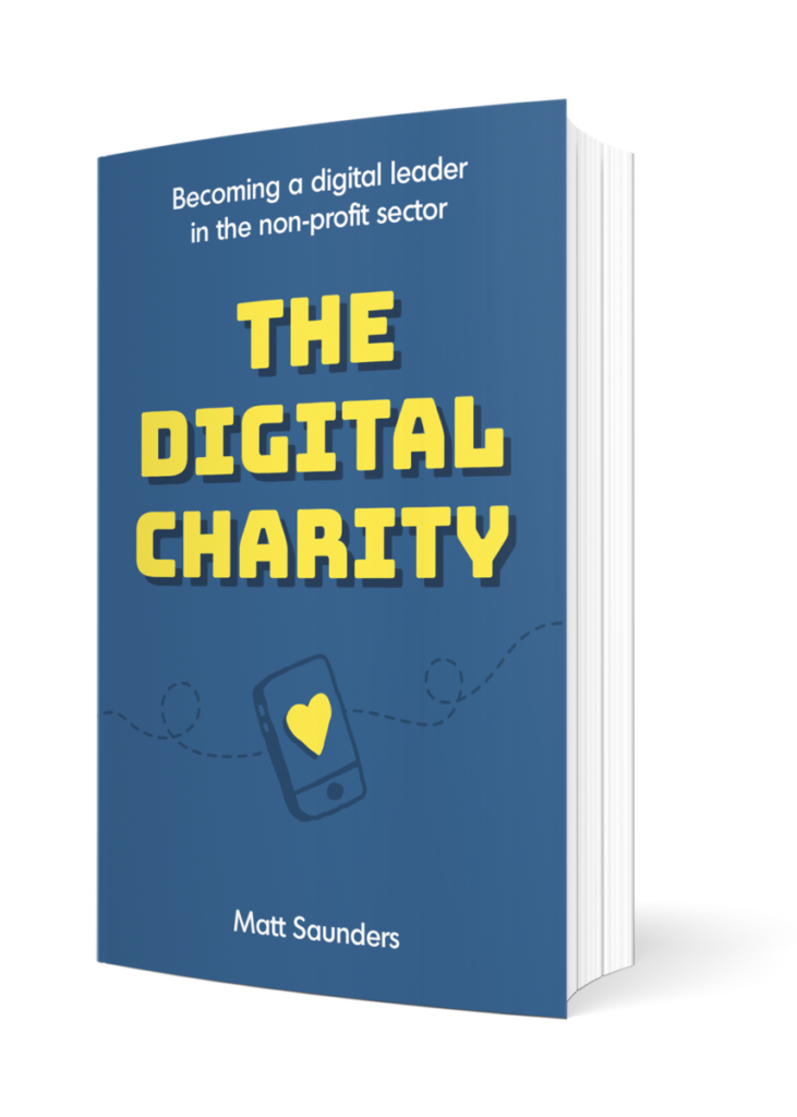 The Digital Charity paperback book